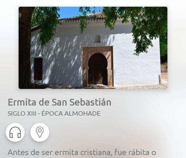 Ermita de San Sebastian en Aumentur